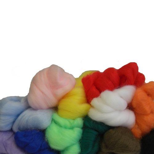 Märchenwolle für das Nadelfilzen, 350 g