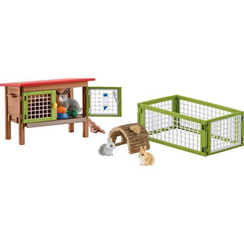 Schleich Farm World Kaninchenstall