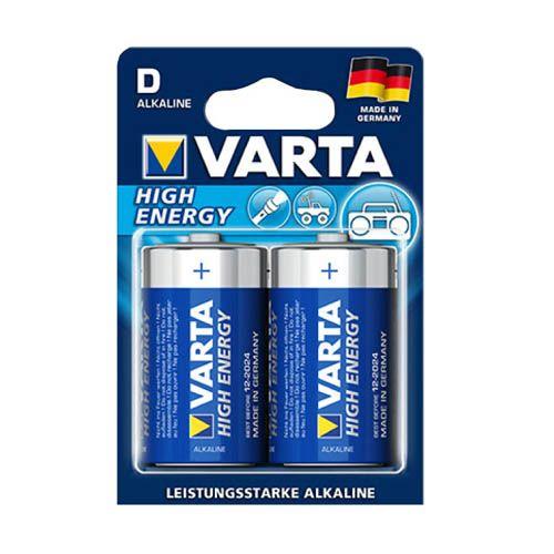 Varta Batterien, Mono D, 2er Set