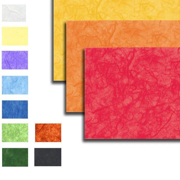 Strohseide, 25g/m², 47 x 64 cm, 10 Bogen, Einzelfarben nach Wahl