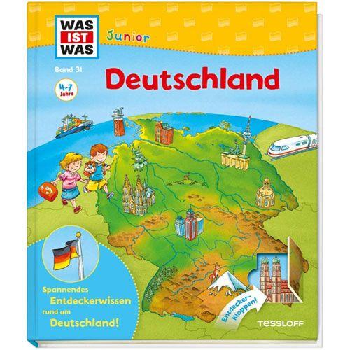WAS IST WAS Junior, Band 31: Deutschland