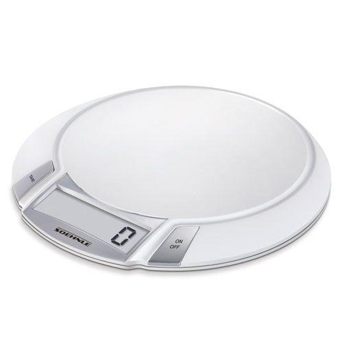 Küchenwaage Olympia, 5 kg Tragkraft, ultraflach, digital