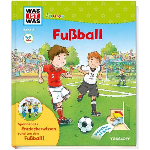 WAS IST WAS Junior, Band 8: Fußball