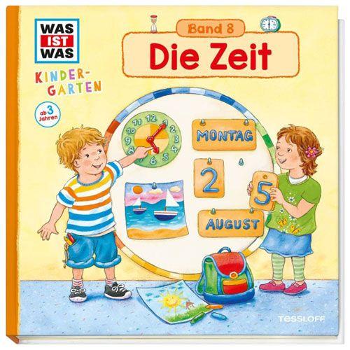 WAS IST WAS Kindergarten, Band 8: Die Zeit
