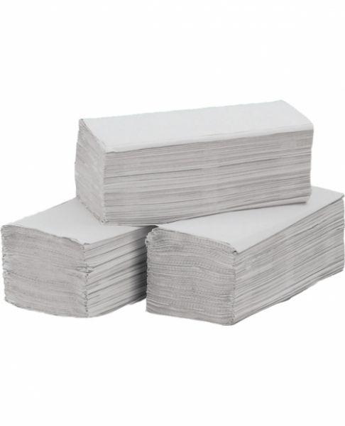 Papierhandtücher hochweiß, Zick-Zack-Falzung, 3200 Blatt