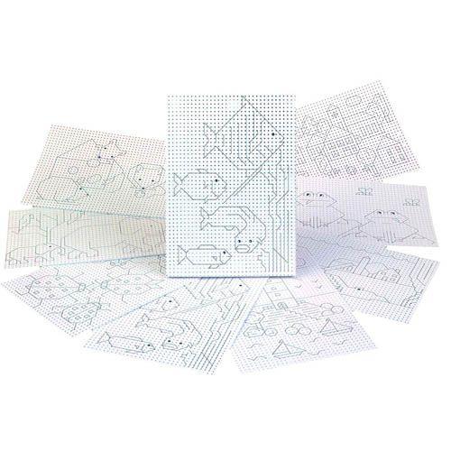 Stickkarton einseitig bedruckt, 300g/m², 17 x 24 cm, 40 Blatt