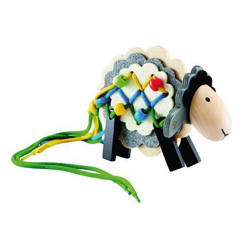 Fädelspiel Schaf