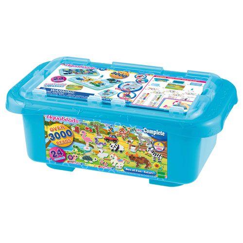 Aquabeads Bastelbox Safari