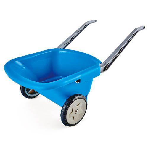 Strandschubkarre blau, 50 kg Traglast