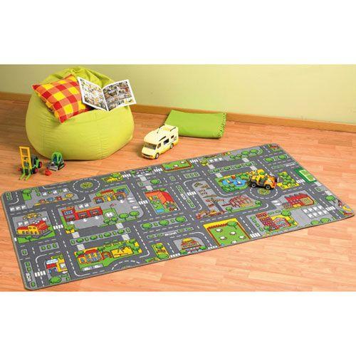 Spielteppich City, 100 x 190 cm