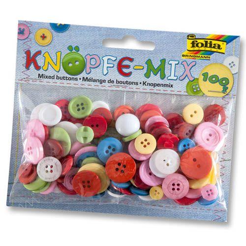 Knöpfe Mix, 100 g