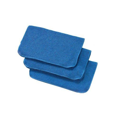 Mikrofasertuch PLUS, blau, 30 x 35 cm, 3 Stk.