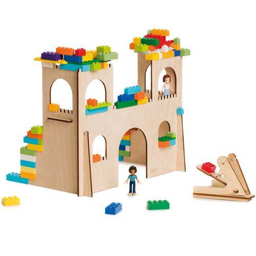 3D Puzzle für Bausteine Burg