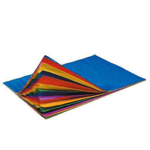 Wabenpapier Regenbogen, 20 x 33 cm, 5 Bogen