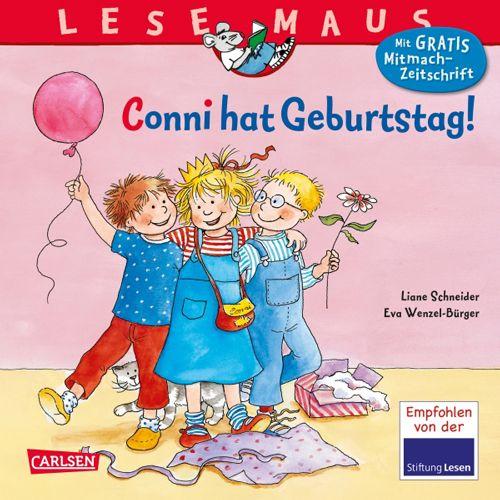 Lesemaus Band 92 - Conni hat Geburtstag