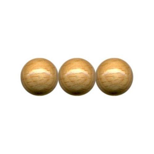 Holzperlen, Ø 10 mm, 56 Stück