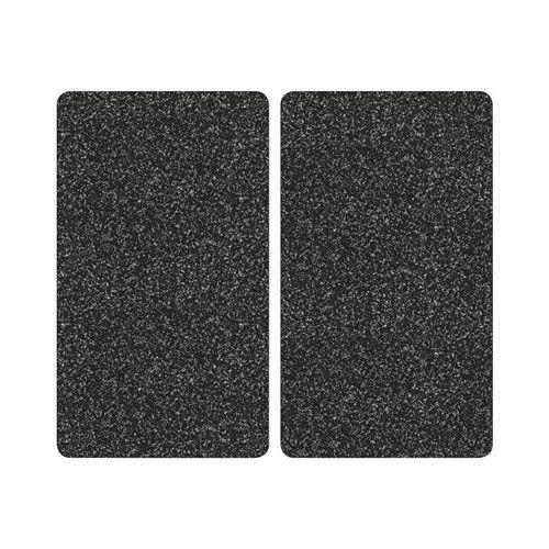 Schneid-/Abdeckplatte, 52 x 30 x 0,9 cm, granit, 2er Pack