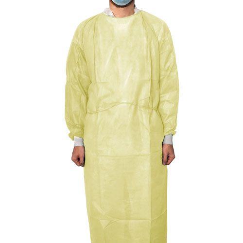 Schutzkittel aus PP-Vliesstoff, 10 Stk.