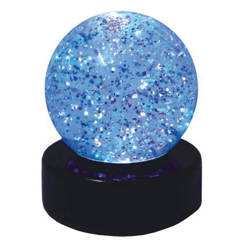Glitterball LED Leuchte, Ø 7,5 cm, H 9 cm