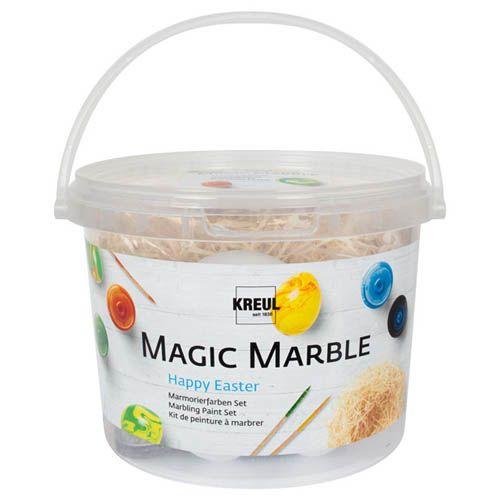Magic Marble Marmorierfarben-Set, Happy Easter