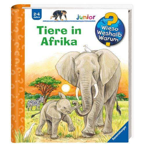Wieso? Weshalb? Warum? junior 50: Tiere in Afrika