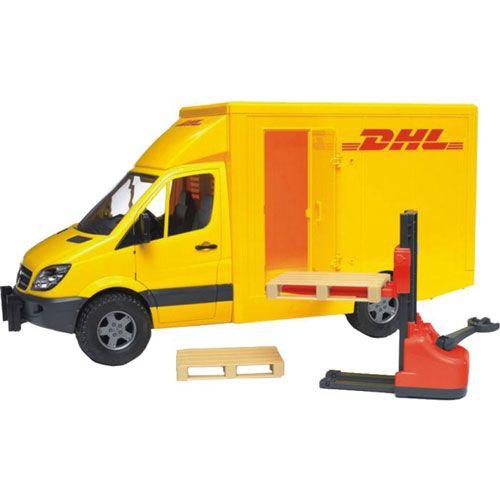 Bruder MB Sprinter DHL und Handhubwagen
