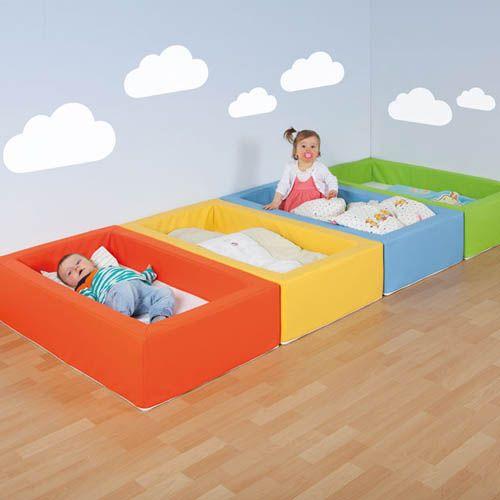 Stapelbare Kinderbettchen, Einzelfarben nach Wahl