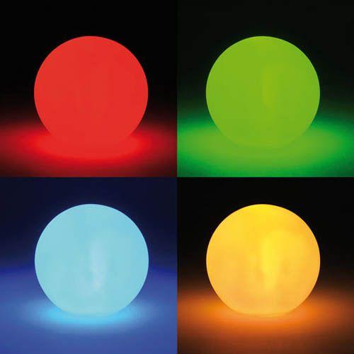 Leuchtkugel klein, Ø 8 cm, mit Farbwechsel
