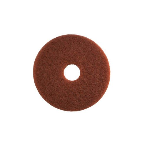 Grundreinigungs-Pad, 33 cm, braun