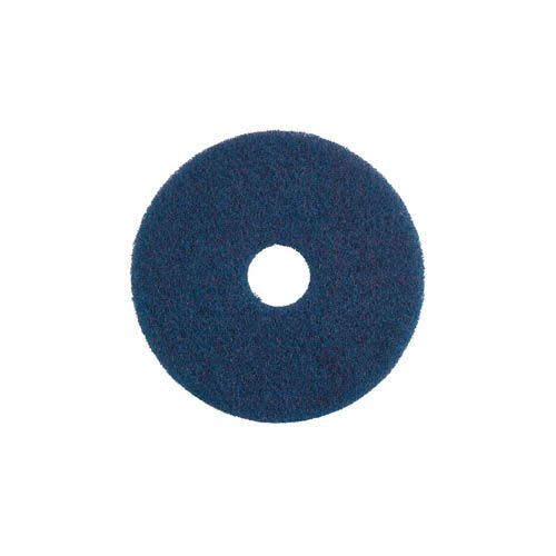 Unterhaltsreinigungs- Pad, 33 cm, blau