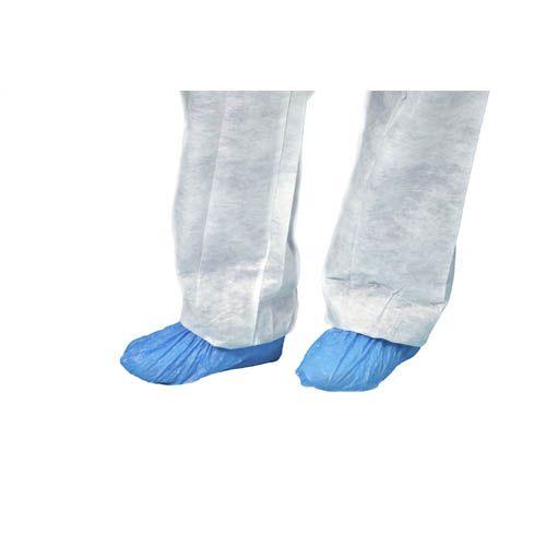 Überschuh CPE blau, 100 Stück