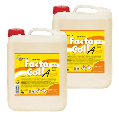 Facto-coll A, Alleskleber, 9kg, 2 Kanister