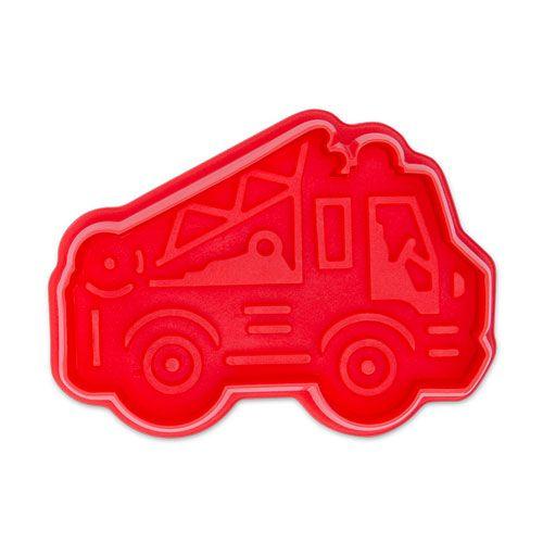 Präge Ausstecher mit Auswerfer, Feuerwehrauto