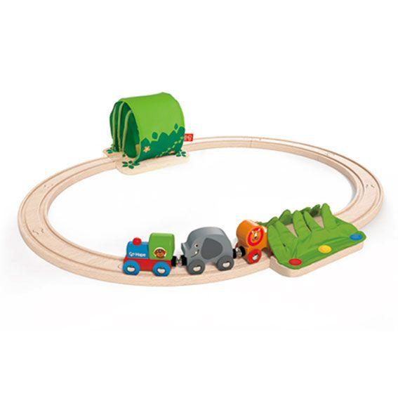 Eisenbahn Dschunglezug-Set