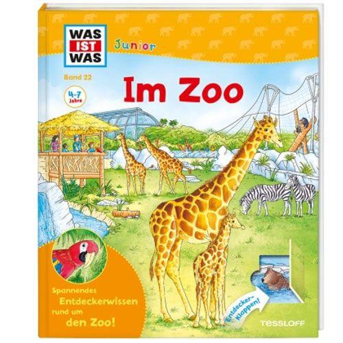 WAS IST WAS Junior, Band 22: Im Zoo