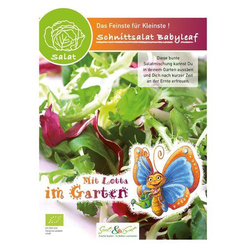 Samen Kindersorten, Saatband Babyleaf Salat, 800 Korn