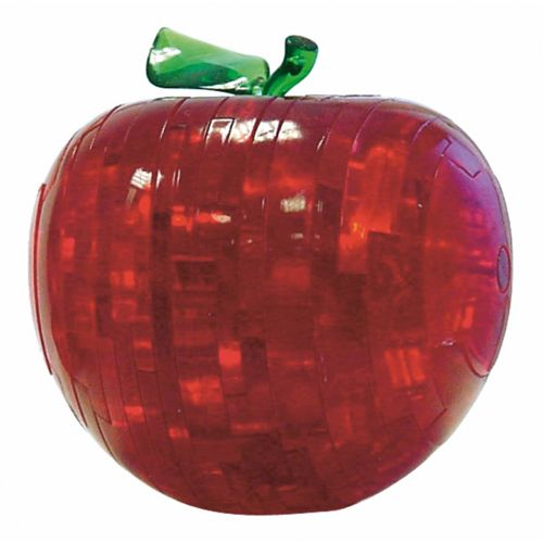 Puzzle 3D Crystal Apfel, 44 Teile