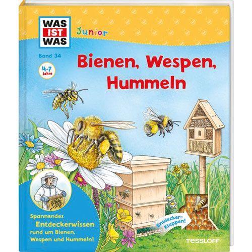 WAS IST WAS Junior Band 34: Bienen, Wespen, Hummeln