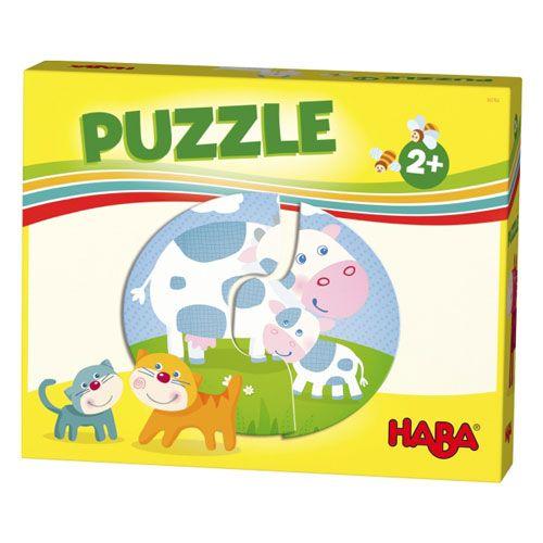 Haba-Lieblingsspiele - Puzzles Bauernhof, 12 Teile