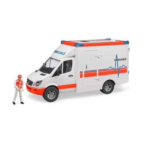 MB Sprinter Ambulanz mit Fahrer