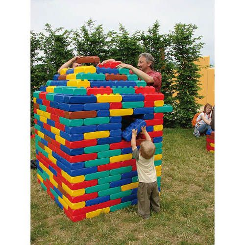 ESDA XXL Fun Blocks Jumbosortiment, 106 Stk.