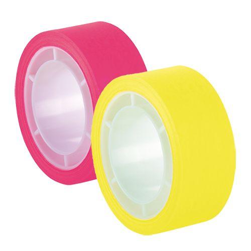 tesafilm® Neon Nachfüllrolle, 11 m x 19 mm, 1 Rolle