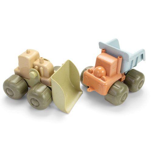 BIO-Fahrzeug-Sets, Bagger & LKW