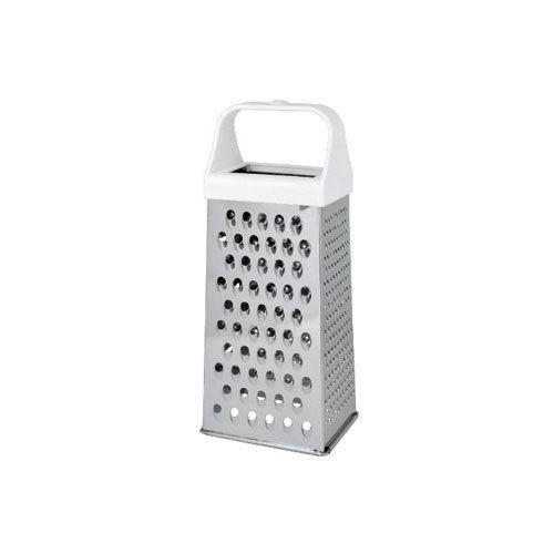 Vierkantreibe groß, Edelstahl/Kunststoff, 24,5 x 10,5 x 8,2 cm, weiß