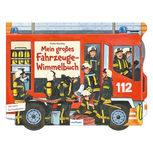 Mein groáes Fahrzeuge-Wimmelbuch