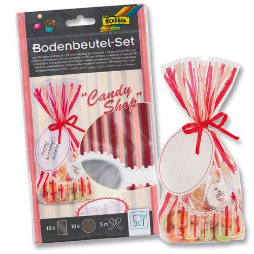 Bodenbeutel Set Candy Shop, 10 Stk.