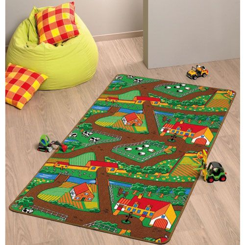 Spielteppich Farm, 100 x 165 cm