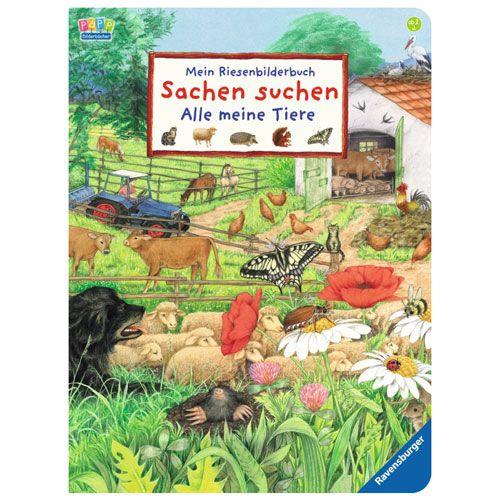Riesenbilderbuch Sachen suchen - Alle meine Tiere