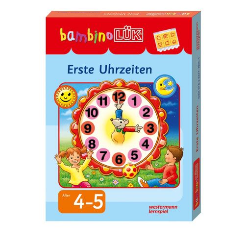 Bambino Lük Set Erste Uhrzeiten