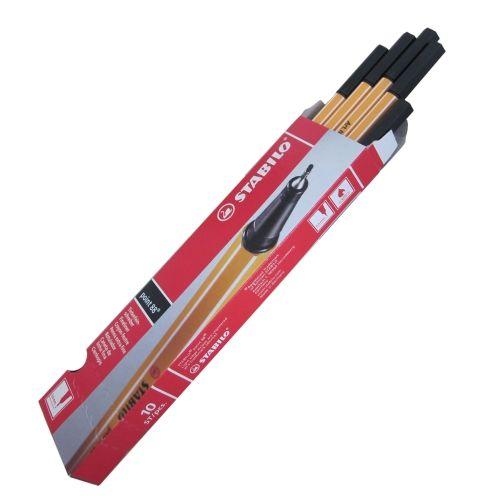 Fineliner schwarz ,10 Stifte